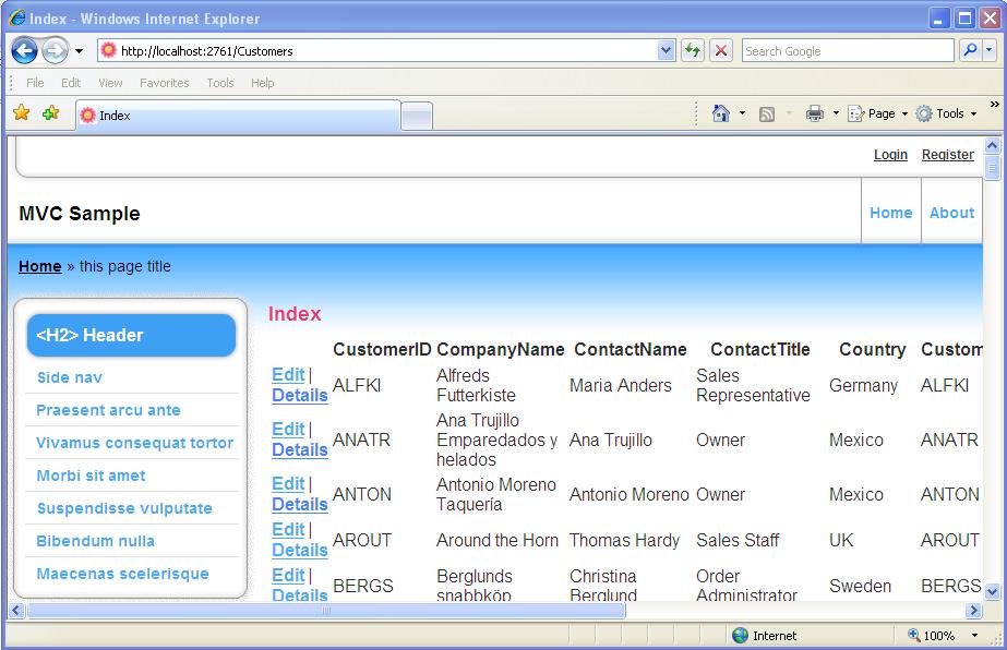 ASP.Net MVC with Entity Framework and Repository Pattern | J Mathews