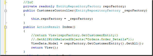 Asp mvc with entity framework and repository pattern j mathews improved the look and feel using design template from httpaspmvc gallery maxwellsz